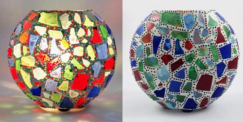 KGV412 - Lampada Mosaico Grande