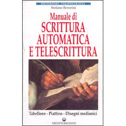 Manuale di Scrittura Automatica e Telescrittura Tabellone - Piattino - Disegni medianici