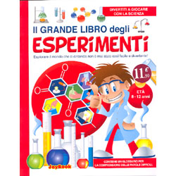 Il Grande Libro degli Esperimentiillustrazioni di David Le Jars