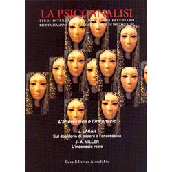 L'anoressica e l'InconscioLa Psicoanalisdi n. 50