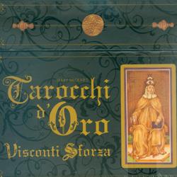 Tarocchi d'Oro Visconti Sforza78 carte in cofanetto