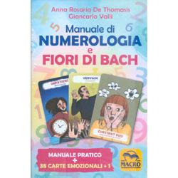 Manuale di Numerologia e Fiori di BachManuale pratico + 38 carte emozionali