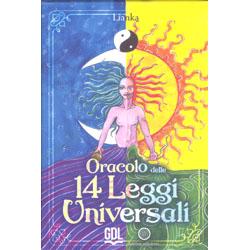 Oracolo delle 14 Leggi Universali 44 carte con libretto di istruzioni di 80 pagine