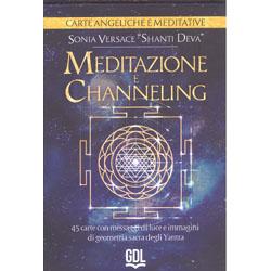Meditazione e Channeling - Carte Angeliche e Meditative45 carte con messaggi di luce e immagini di geometria sacra degli Yantra