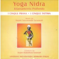 Yoga Nidra I 5 Prana e i 5 TattwaCD audio