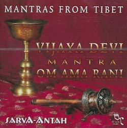 MANTRAS FROM TIBET - VIJAYA DEVI - (2 CD)