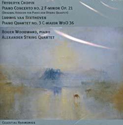FRYDERYK CHOPIN - PIANO CONCERTO NO. 2 F-MINOR OP. 21 / LUDWING VAN BEETHOVEN PIANO QUARTET NO. 3 C
