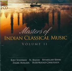 MASTERS OF INDIAN CLASSICAL MUSIC VOL. 2 - (2 CD)