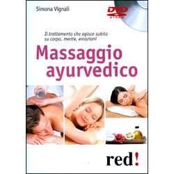 Massaggio Ayurvedico - (Opuscolo+DVD)Il trattamento che agisce subito su corpo, mente, emozioni