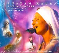 SNATAM KAUR - LIVE IN CONCERT (CD+DVD)