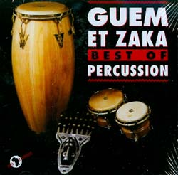 GUEM ET ZAKA - BEST OF PERCUSSION