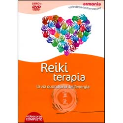 Reiki Terapia - (Opuscolo+DVD)La via quotidiana dell'energia
