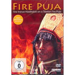 FIRE PUJA - FIRE TRANCE MEDITATION ON A TIBETAN FIRE PUJA