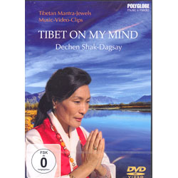 TIBET ON MY MIND - TIBETAN MANTRA-JEWELS (DVD)