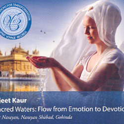 SACRED WATERS -MEDITATIONS FOR TRANSFORMATION -